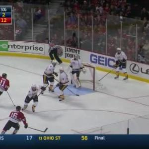 Carter Hutton Save on Daniel Carcillo (03:11/2nd)