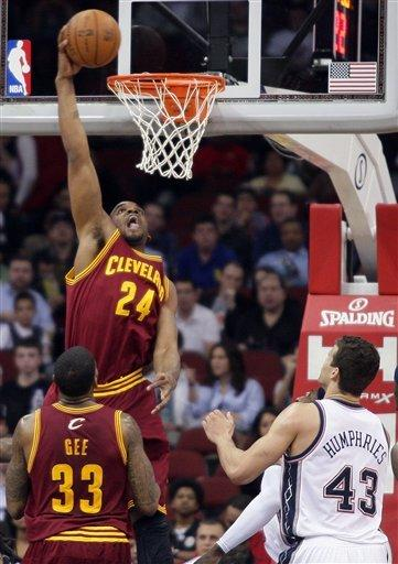 Thompson has career-high 27 to lead Cavs past Nets