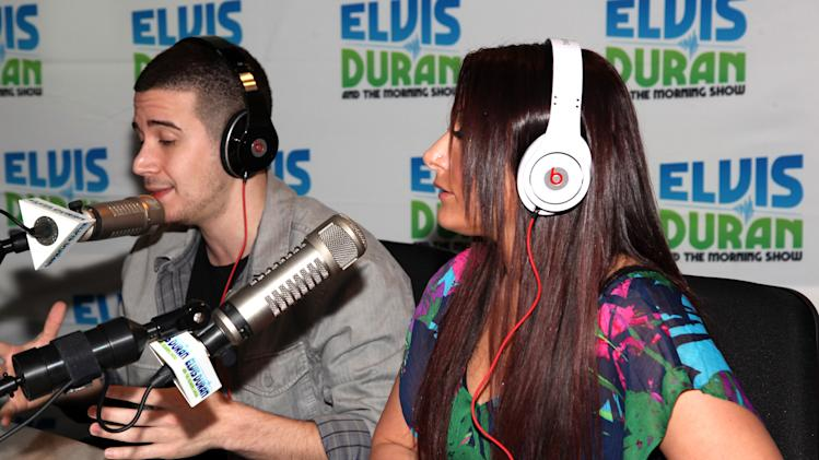 """The """"Jersey Shore"""" Cast Visits """"The Elvis Duran Z100 Morning Show"""""""