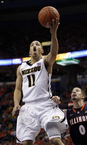 No. 9 Missouri holds off No. 25 Illinois 78-74