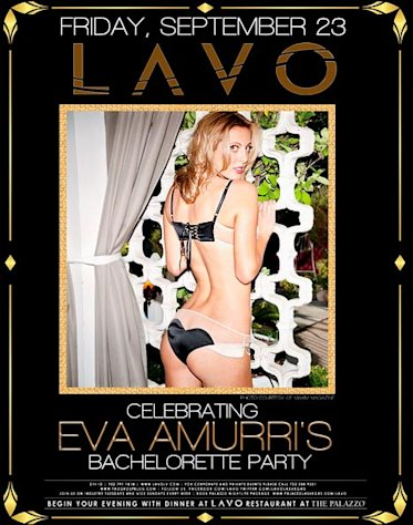 Eva Amurri Strips Down, Flaunts Booty in Bachelorette Party Invite