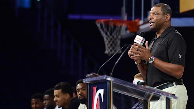 Doc Rivers, the head coach who helped his Los Angeles Clippers players navigate the turbulent waters of the Donald Sterling scandal, will stay with the club through the 2018-19 NBA season