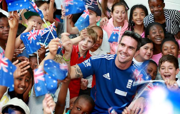 Kevin Pietersen Chance to Shine