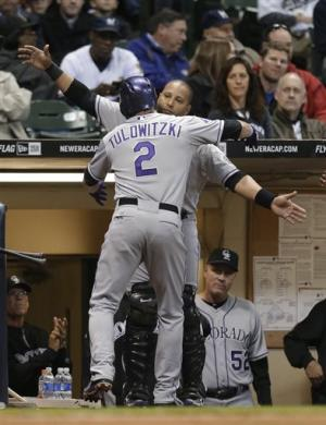 Tulowitzki HRs again, Weiss & Rockies beat Brewers