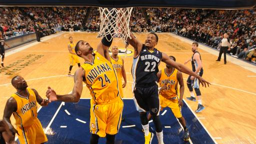 George leads Pacers over Grizzlies