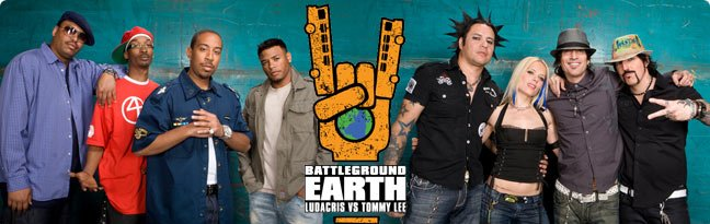 Battleground Earth: Ludacris VS. Tommy Lee