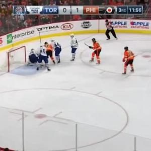 James Reimer Save on Claude Giroux (08:04/3rd)