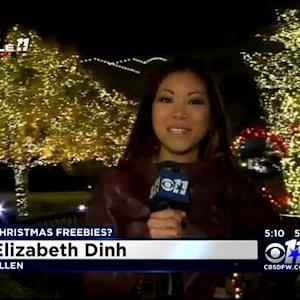Christmas Light Show At Watters Creek In Allen