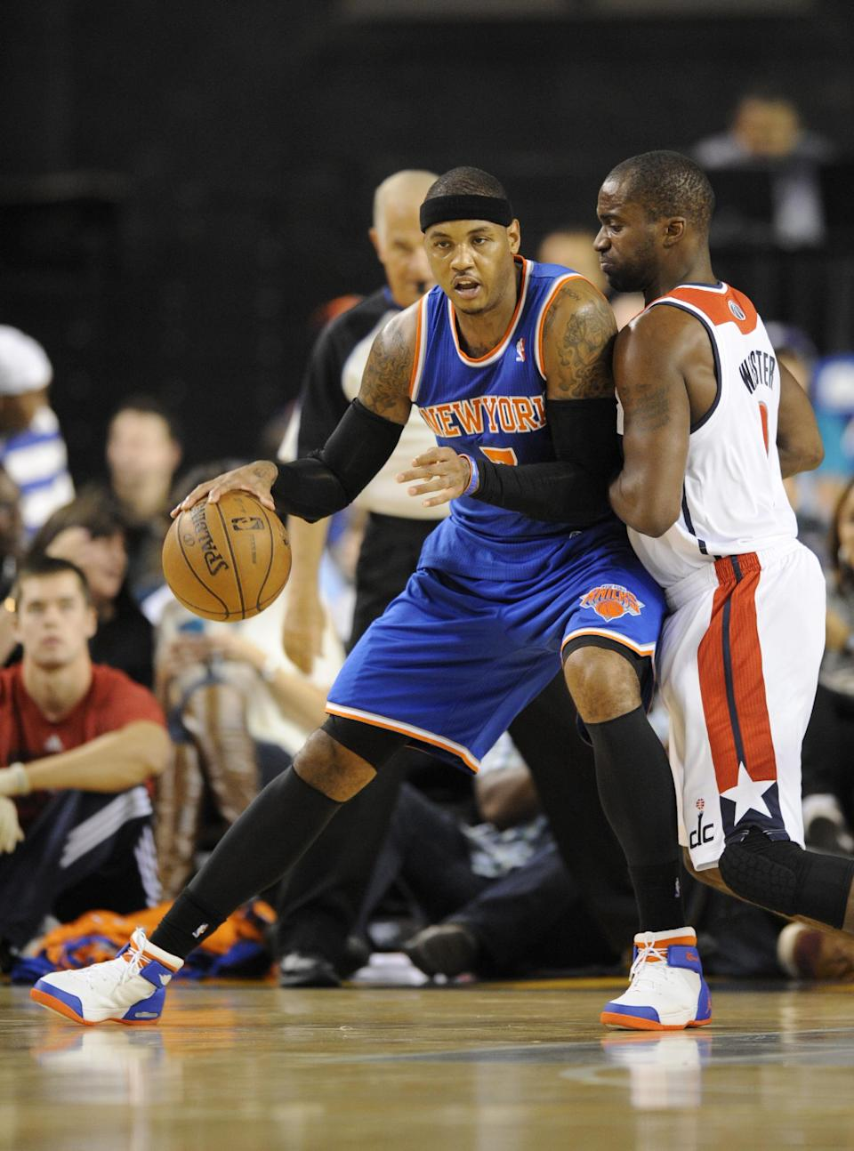 Anthony nets 22 in Knicks' 98-89 win over Wizards