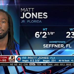 Washington Redskins pick running back Matt Jones No. 95 in 2015 NFL Draft