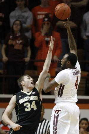 Wake Forest beats Virginia Tech 83-77