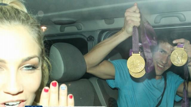 Olympics 2012: Michael Phelps, Ryan Lochte, Other Olympians Party All Over London