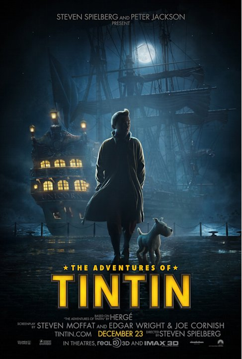 Comic Con 2011 Reveals The Adventures of tintin