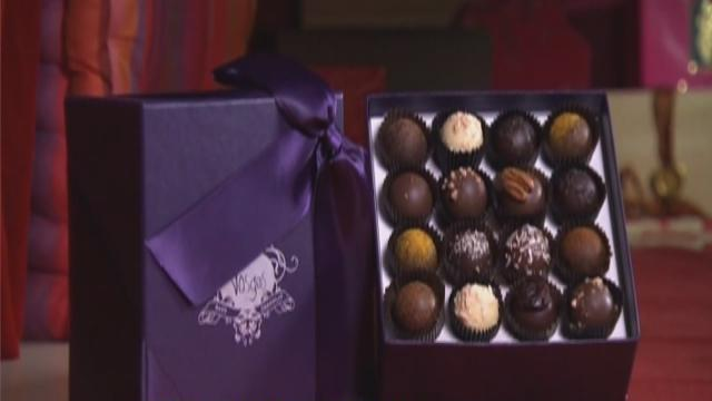Unique gift-box chocolates