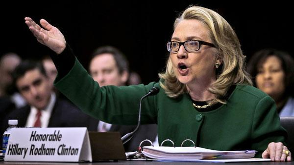 Hillary Clinton answers questions about Benghazi, Libya attack, says US strengthening embassy security