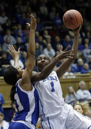 Liston, Duke women pull away from Hampton, 67-51
