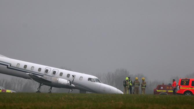 Dublin Airport reopens after plane's wheel fails