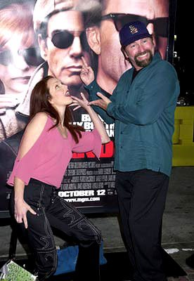 Amy Yasbeck and John Ritter at the Westwood premiere of MGM's Bandits