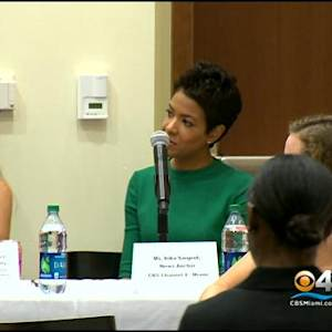 Irika Sargent Speaks To Students At University Of Miami