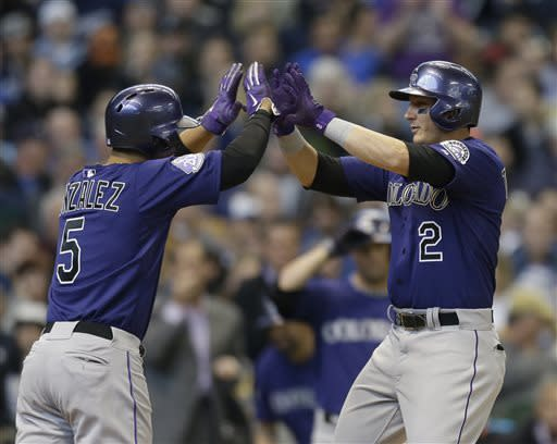 Lucroy lifts Brewers past Rockies 5-4 in 10
