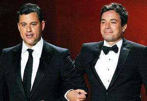 Jimmy Kimmel and Jimmy Fallon | Photo Credits: Kevin Winter/Getty Images