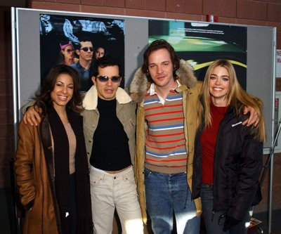 Delilah Cotto, John Leguizamo, Peter Sarsgaard and Denise Richards