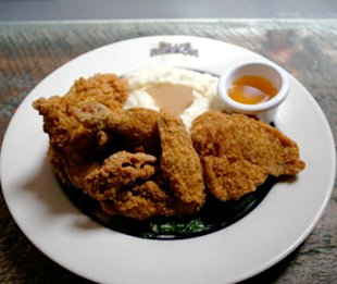 Blue Ribbon Fried Chicken in New York City.