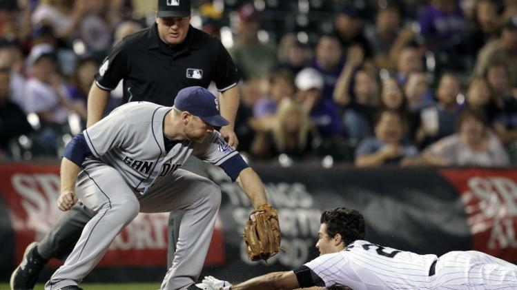 Hundley, Gyrko homer; Padres top Rockies 7-5