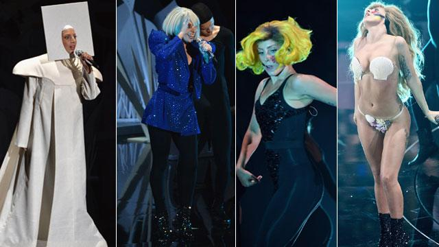 The Many Styles of Gaga's Performance at the VMAs