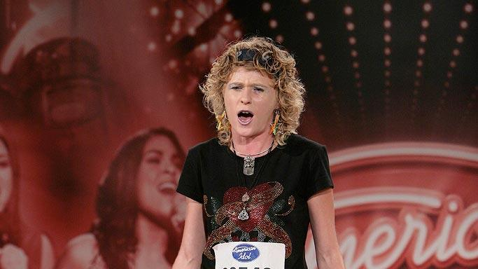 Philadelphia Contestant:  Alexis Cohen, 23, Allentown PA auditioning on the 7th season of American Idol.