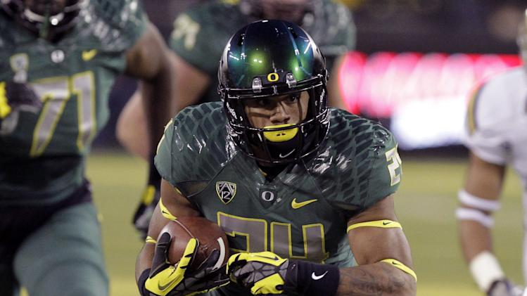 Oregon RB Tyner is ready for his close-up