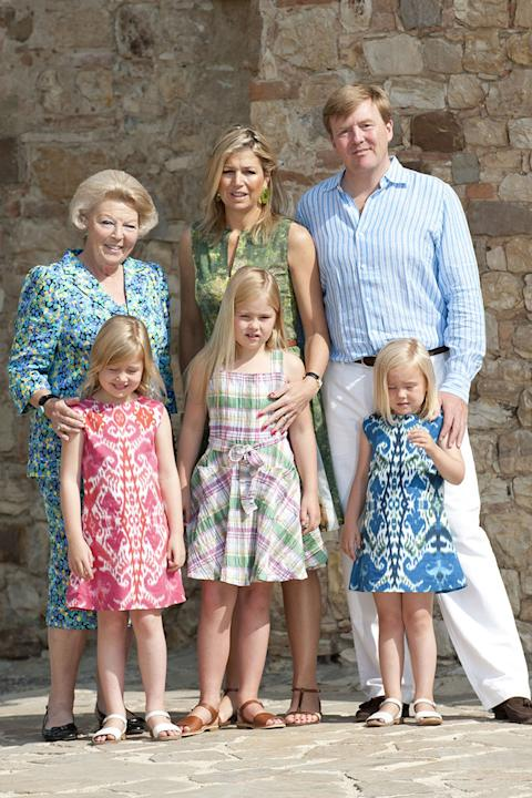 The Royal Family of the Netherlands, 2011