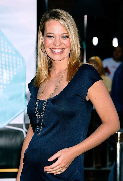 "Jeri Ryan arrives to the Los Angeles premiere of ""Bee Movie"" at the Mann Village Theatre on October 28, 2007 in Westwood, California."