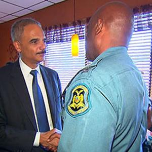Holder Reassures Ferguson Community With Visit