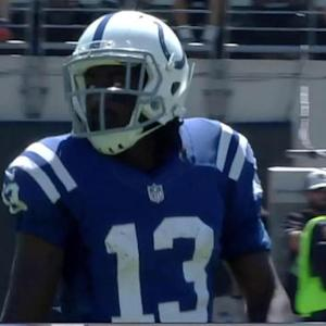 Indianapolis Colts wide receiver T.Y. Hilton 39-yard reception