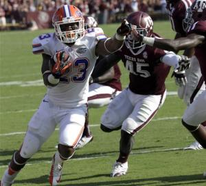 Gillislee leads Gators to 20-17 win over A&M