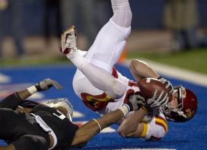 Iowa State blasts Kansas 51-23