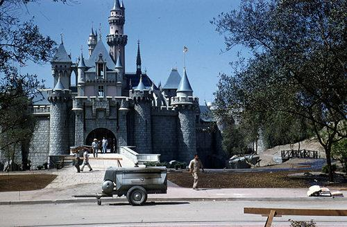 See Photos of Disneyland Before Its Opening Day Back in 1955