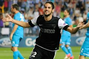 Malaga targets Isco contract extension