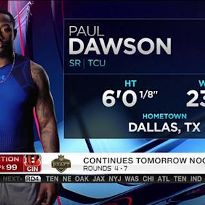 Cincinnati Bengals pick Paul Dawson No. 99 in 2015 NFL Draft