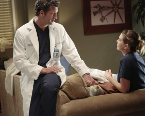 Exclusive Grey's Anatomy Video: A Desperate Owen Begs [Spoiler] to Stay!