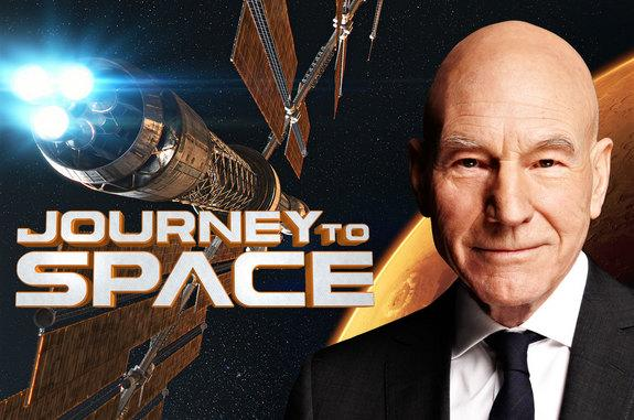 Patrick Stewart Narrating NASA's 'Trek' to Mars in 'Journey to Space'