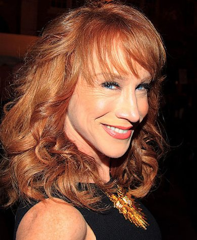Actress and comedian Kathy Griffin has been banned from several shows in her career...at least according to her.