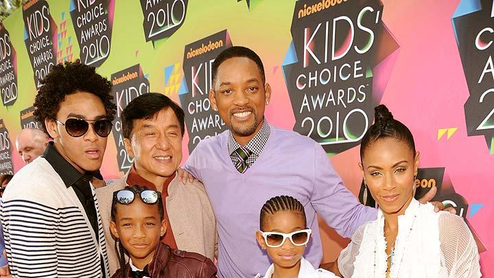 Smith Chan Pinkett Kids Choice Awards
