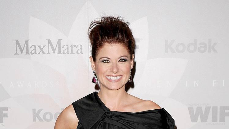 Debra Messing Crystal Lucy Awards
