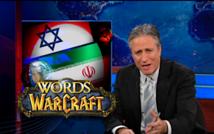 Jon Stewart Tries to Mediate the Iran-Israel Conflict