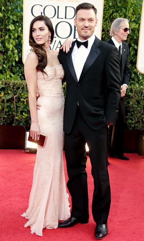 "Megan Fox: Brian Austin Green Picked My ""Tight"" Golden Globes Dress"