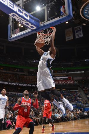 Harris has 31 and Magic extend 76ers' skid, 92-81