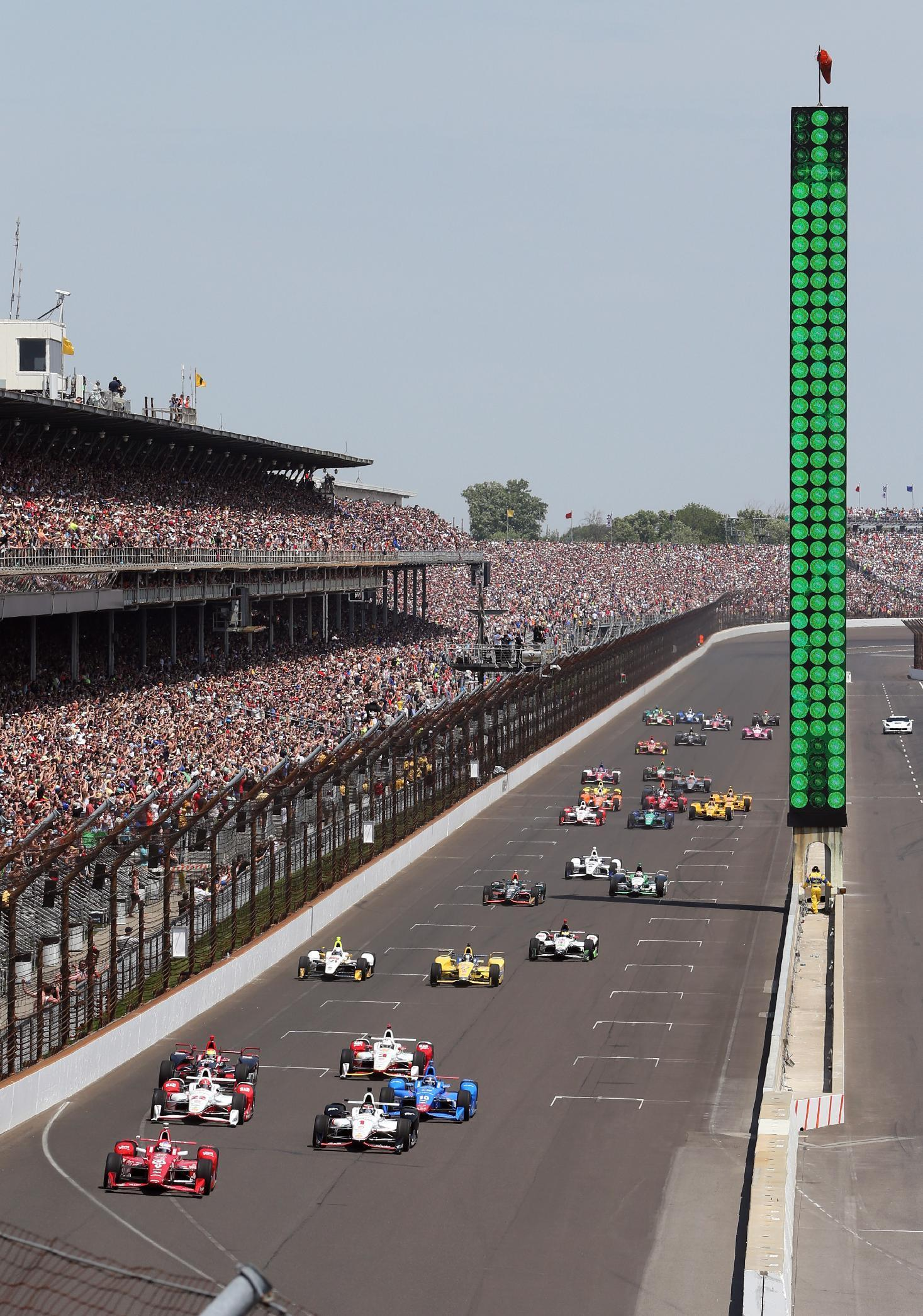 Rahal leads Honda with fifth place finish in Indy 500