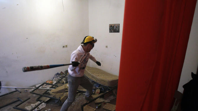 "Serbs set up ""Rage Room"" for unleashing anger"